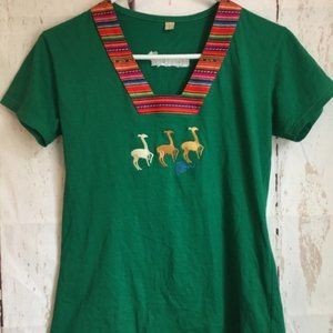 Women's Large Peru Shirt